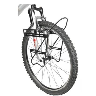 Vélo Porte Bagage Kinderrad 18 in noir avec ressort clapet 26009