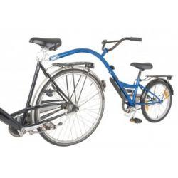 Troisième Roue Trailer Bike bleu