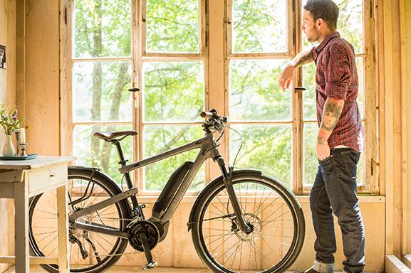 Vélos électriques Winora