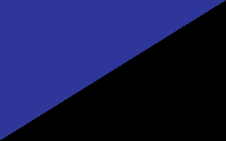Bleu/noir